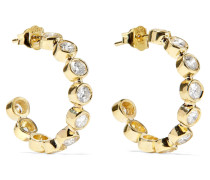 Creolen aus 18 Karat  mit Diamanten