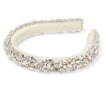 Czarina Haarreif aus Ripsband mit Kristallen