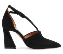 Lina Pumps aus Veloursleder