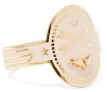 Crossed Arrows Ring aus 18 Karat