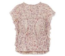 Layona Bluse aus Baumwoll-voile