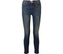 The High Waist Stiletto Verkürzte Skinny Jeans