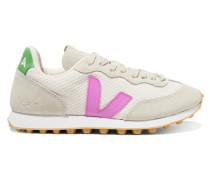 + Net Sustain Rio Branco Sneakers aus Mesh und Veloursleder