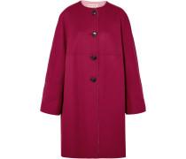 Wendbarer Mantel aus einer Woll-kaschmirmischung