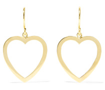 Open Heart Ohrringe aus 18 Karat