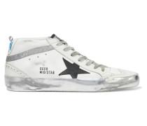 Mid Star Sneakers aus Leder in Distressed-optik