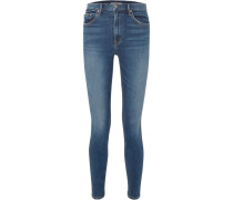 Kendall Hoch Sitzende Skinny Jeans