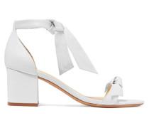 Clarita Sandalen aus Leder mit Schleifen