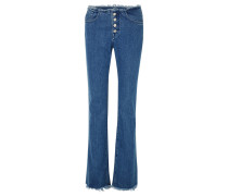 + 7 For All Mankind Halbhohe Bootcut-jeans