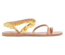 Apli Eleftheria Verzierte Sandalen aus Leder