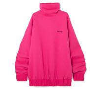 Oversized-sweatshirt aus Jersey aus einer Baumwollmischung