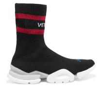 + Reebok Sock Sneakers aus Stretch-strick