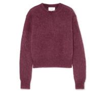 Pullover aus einer Mohair-wollmischung