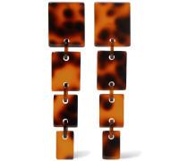 Flo Ohrringe aus Acryl in optik
