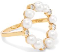 Rond De Perle Ring aus 18 Karat