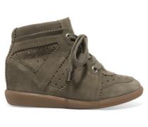 Étoile Bobby Sneakers aus Veloursleder