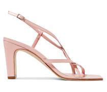 Carrie Slingback-sandalen aus Leder