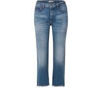 Helena Verkürzte, Halbhohe Jeans