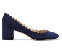 Lauren Pumps aus Veloursleder