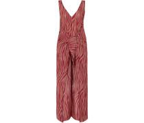 Acella Jumpsuit aus Voile aus einer Baumwoll-seidenmischung