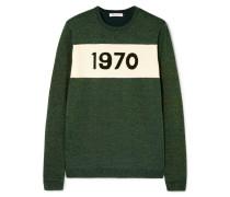 1970 Pullover aus einer Wollmischung in Metallic-optik