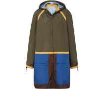 Jacke aus Shell in Colour-block-optik