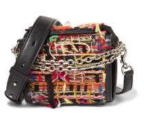 Box Bag 16 Kleine Schultertasche aus Tweed