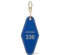 Hotel Schlüsselanhänger aus Leder mit Print