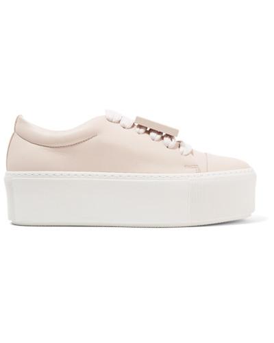 Acne Damen Drihanna Sneakers aus Leder Billig Verkauf 100% Original JQnNJ5BeRl