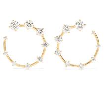 Circle Kleine Ohrringe aus 18 Karat