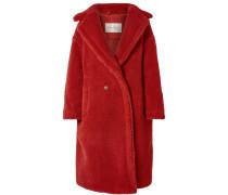 Teddy Bear Mantel aus einer Kamelhaar-seidenmischung