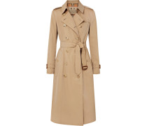The Chelsea Long Trenchcoat aus Baumwoll-gabardine