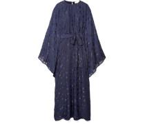 Oversized-kleid aus Chiffon