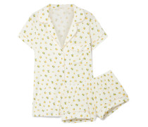 Dianna Pyjama aus Bedrucktem Jersey aus Stretch-modal