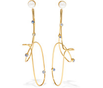 Verete Ohrringe mit Perlen und Mondsteinen