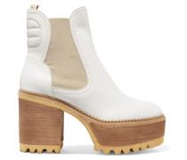 Erika Ankle Boots aus Leder mit Plateau