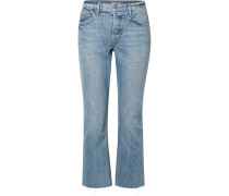 Tatum Verkürzte, Halbhohe Jeans