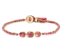Triple Orbit Armband aus 18 Karat  mit Saphiren