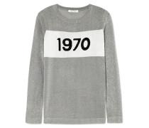 Sparkle 1970 Pullover aus Metallic-strick