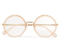 Tilda Goldfarbene Brille