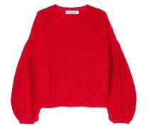 Pullover aus einer Woll-kaschmirmischung