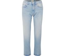 Original Halbhohe Jeans mit Geradem Bein