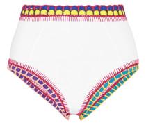 Yaz Bikini-höschen mit Häkelbesatz