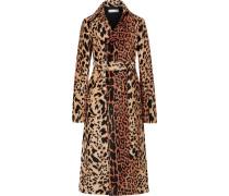 Mantel aus Chenille-jacquard mit Gürtel