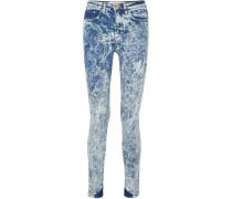 Hoch Sitzende Skinny Jeans