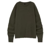 Pullover aus einer Woll-kaschmirmischung in Oversized-passform