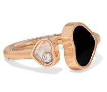 Happy Hearts Ring aus 18 Karat