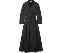 Kleid aus Popeline aus einer Baumwollmischung