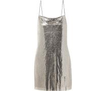Harmony Minikleid aus Metall-mesh