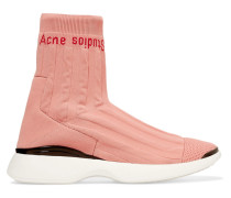 Batilda Sneakers aus Stretch-strick